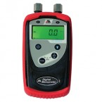 "M100 Digital Manometer, 0 to 2000"" H2O Differential, +/- 0.25% FS"